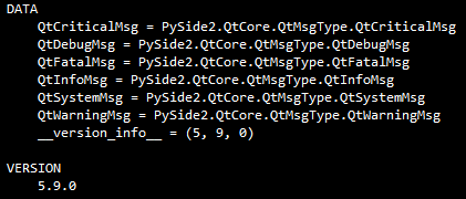 PySide2.0 for Python3.5 QT5.9.0 Win64(LGPL官方 .whl 格式安装包)...